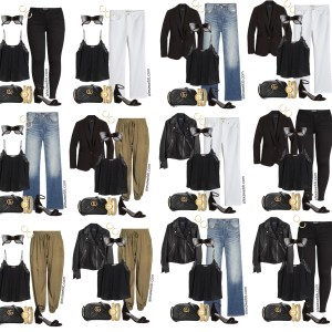 Plus Size Spring Casual Capsule Wardrobe - Part 4 with an essential list of plus size spring clothing - 16 pieces with countless outfits - Alexa Webb