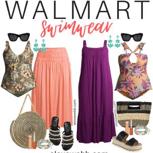 Plus Size Swimwear at Walmart - Alexa Webb