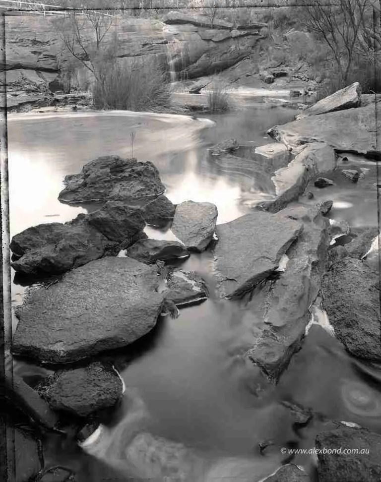fernhook falls walpole polaroid type 55 film