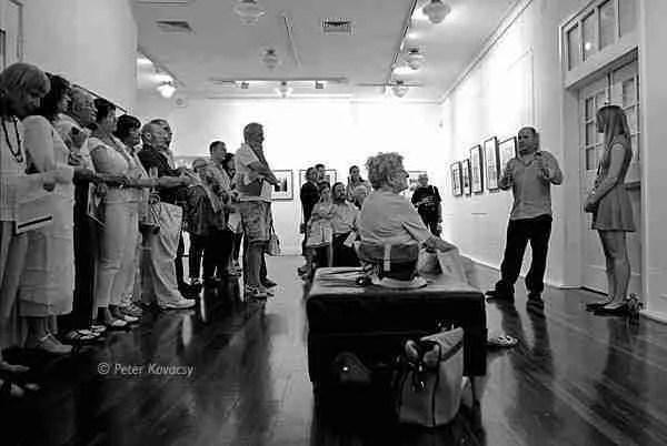 Dissociation Exhibition Opening Night