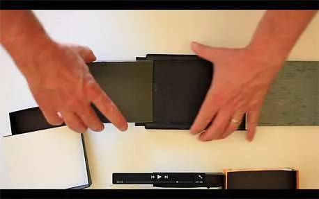 Loading Sheet Film Double Darks 4x5