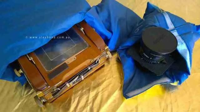 Camera protection backpacking