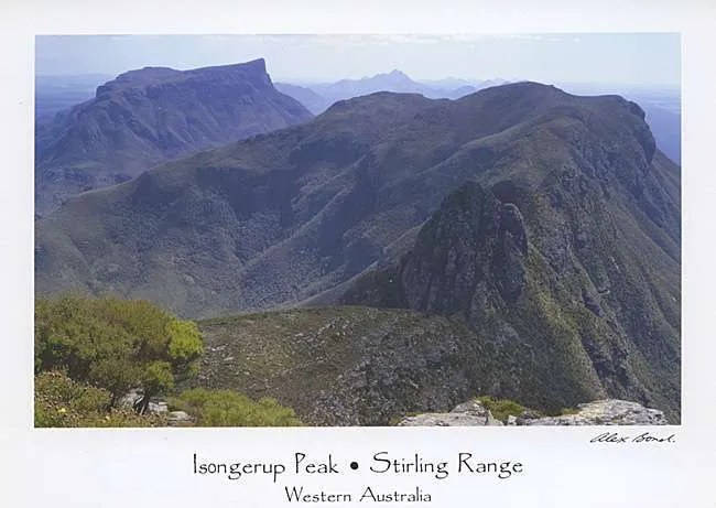 Postcards Stirling Range
