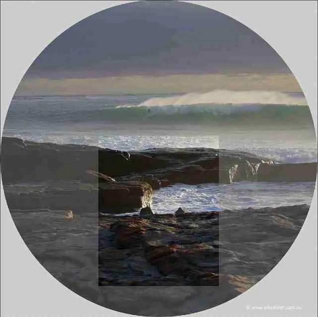 lens fall image circle