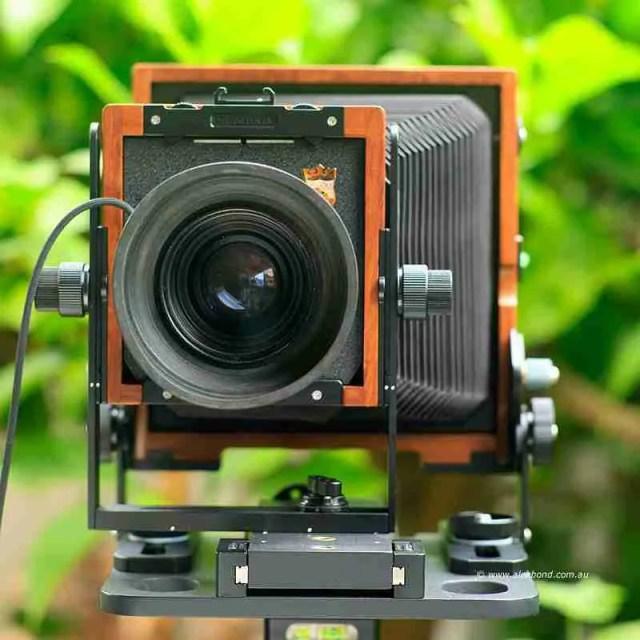 large-format camera movements lens shift