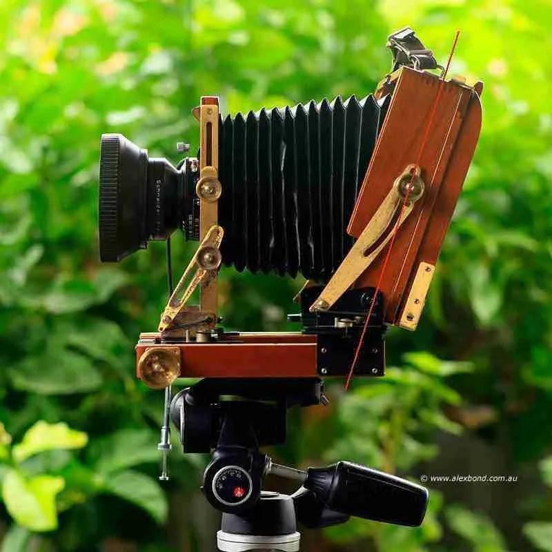 rear tilt wista field camera large-format camera movements