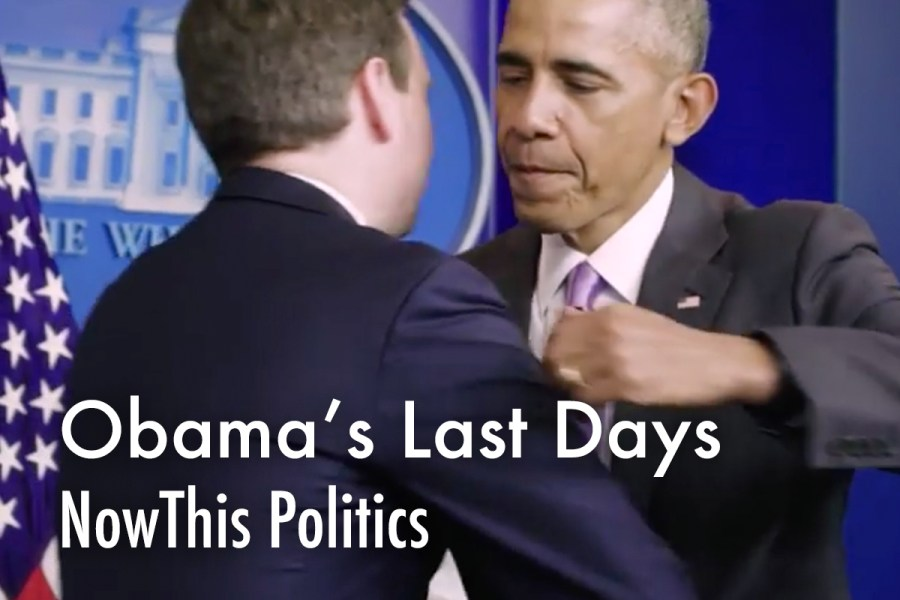 Last Days In The Obama White House - Editor