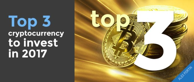 top3 cryptocurrency to invest