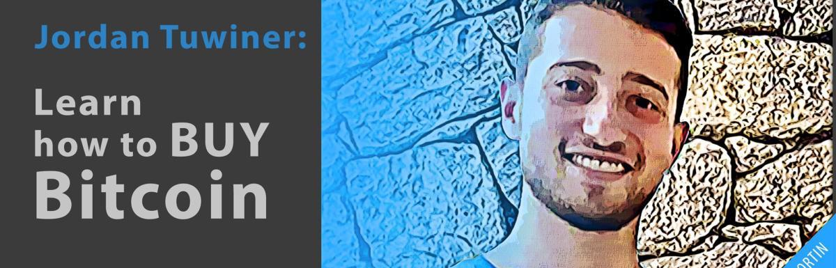 Learn how to buy bitcoin with Jordan Tuwiner