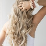 Overnight Heatless Robe Belt Curls Hair Tutorial Alex Gaboury