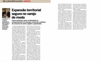 Artigo O Confeccionista - Expansão Territorial