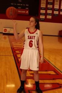 Hope Lewis of SAIT Trojans