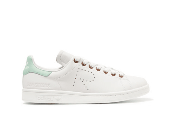 Adidas originals leather stan smith trainers