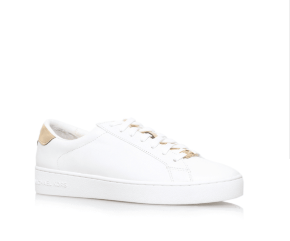 Michael Michael Kors white low top trainers