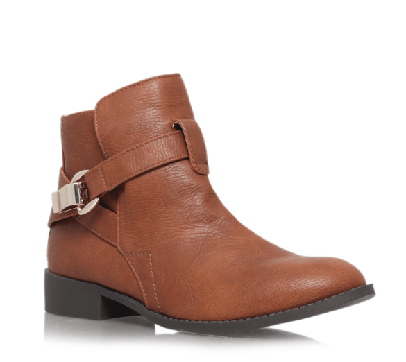 Miss KG tan brown ankle boots