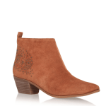 Nine West tan ankle boots