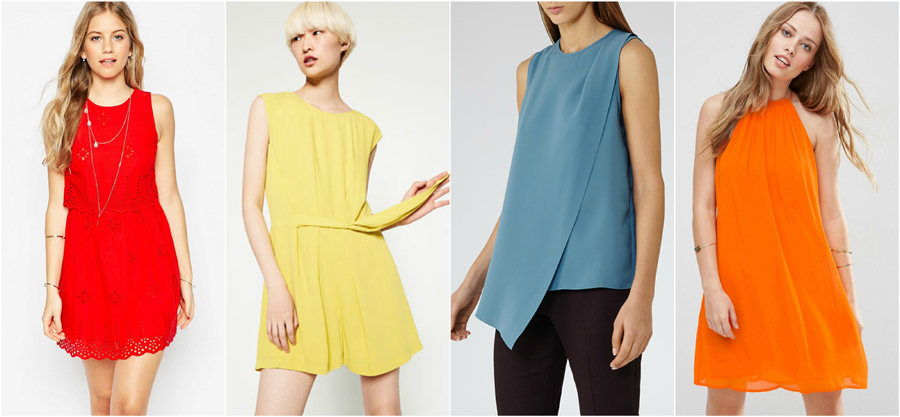 420c9361dc21 House Party Wear Spring Summer Bold Colour Fashion Top Dress