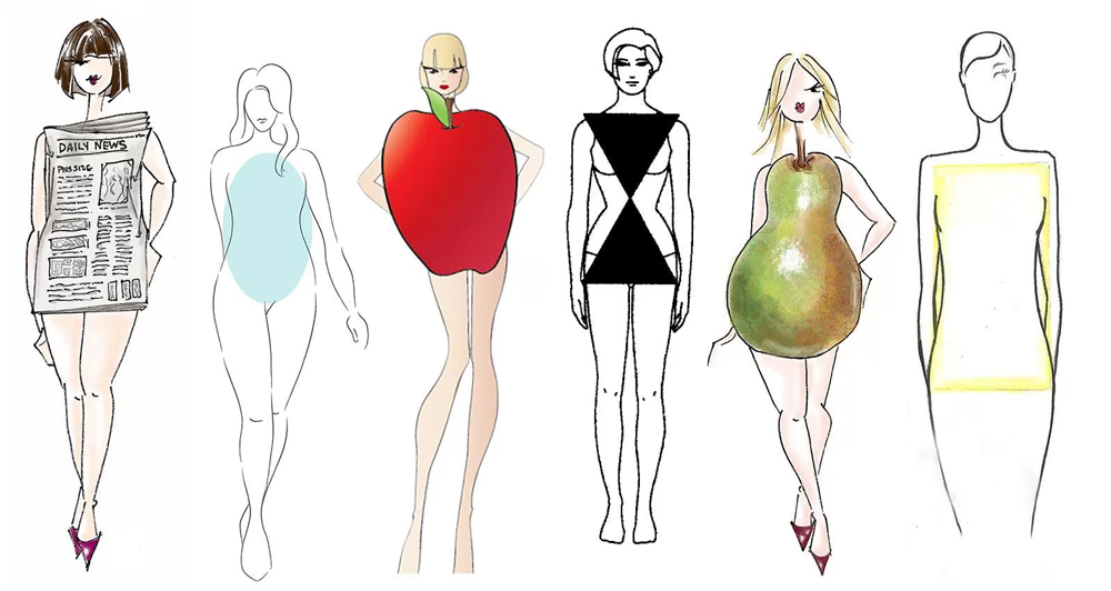 how to dress for your body type womens