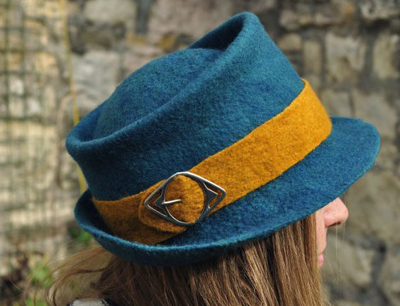 women trilby hat fashion style
