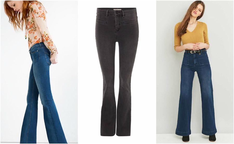 Flare Bootcut High Waist Jeans Shop Grid Alexie 2