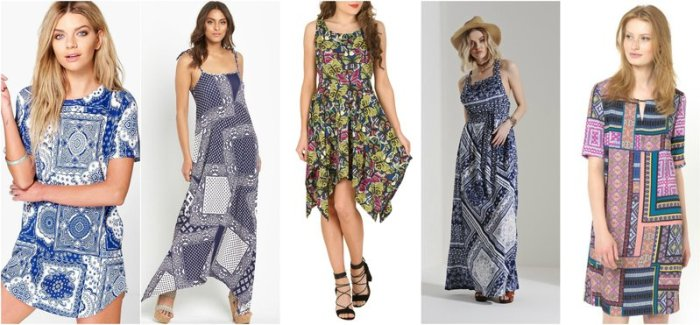 High Street Scarf Dresses