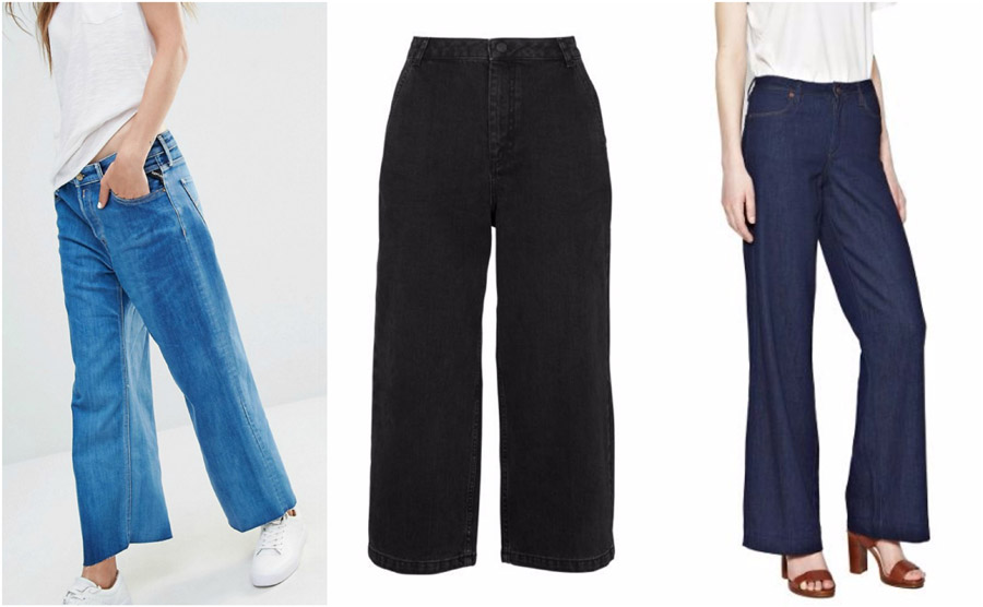 Wide Leg High Waist Jeans Shop Grid Alexie