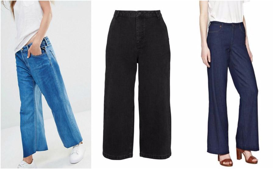 Wide Leg High Waist Jeans Shop Grid Alexie