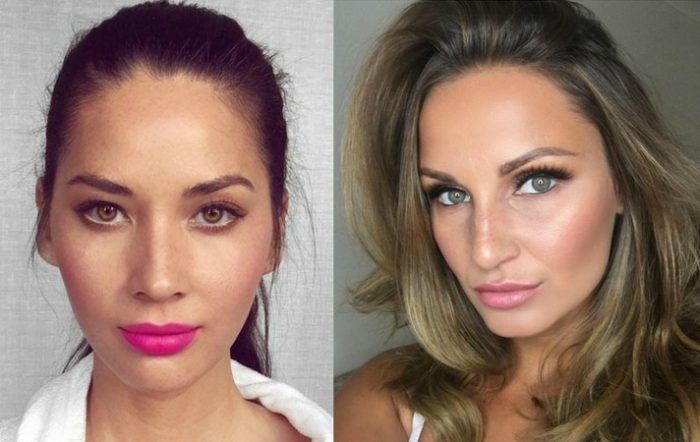 Olivia Munn and Samantha Faiers, Trichotillomania sufferers, eyelashes