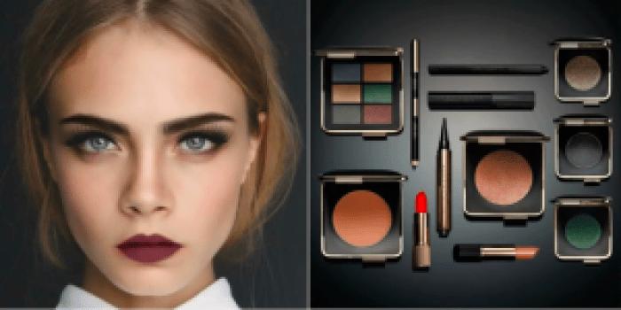 Cara Delevigne Estee Lauder AW16 makeup trends