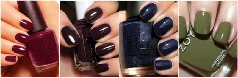 Essie Dark Winter Nail Colours
