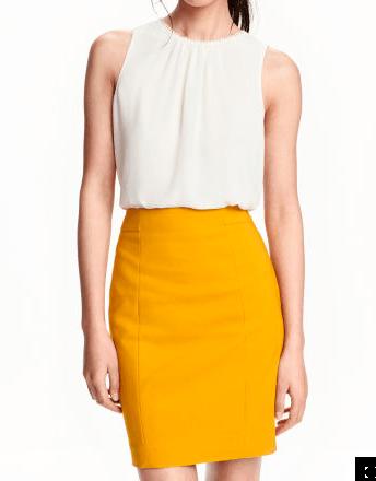 H & M Short pencil skirt