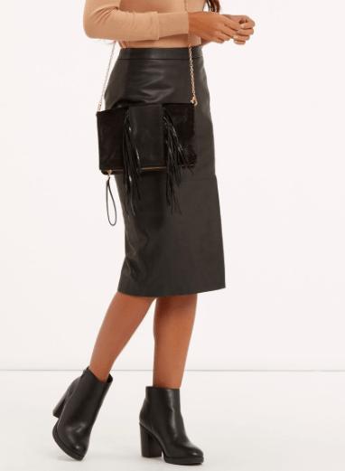 ASOS PU Pencil Skirt £24