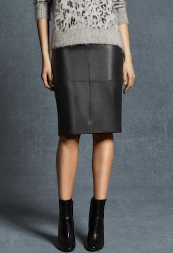 Karen Millen Leather Skirt £350