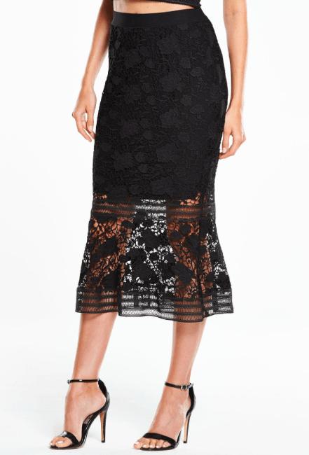 Very Lace Frill Hem Skirt £32