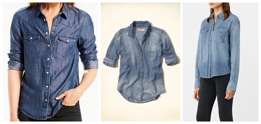exclusive denim shirts