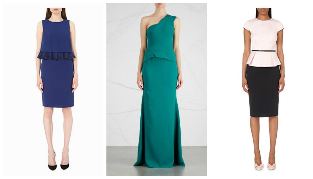 designer-peplum-dresses