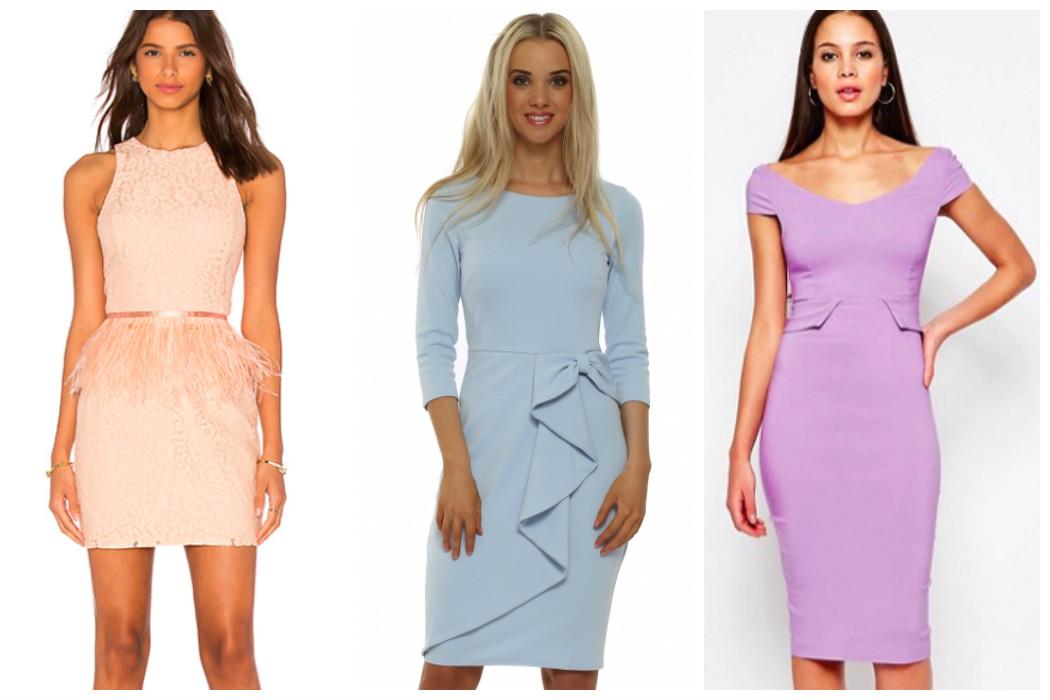 pastel-coloured-peplum-dresses