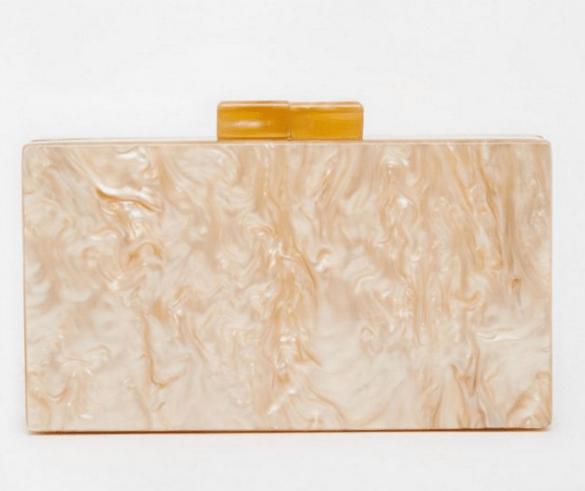 ASOS Marble Box Clutch £25
