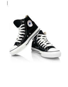 Converse All Star Hi Top Black Canvas £47.99