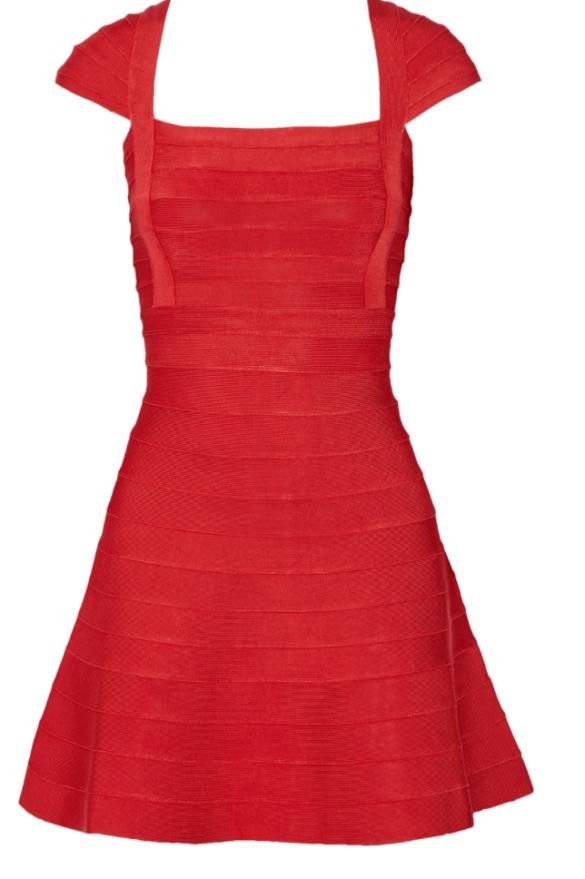 HERVÉ LÉGER Bandage mini dress £571.50