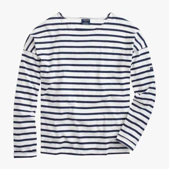 JCrew Breton Striped Top £80