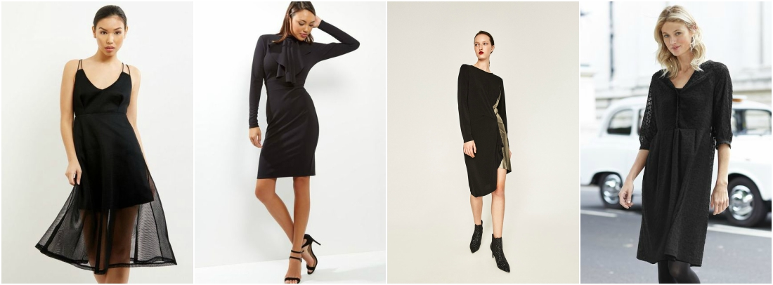 outfit-grid-little-black-dress-casual
