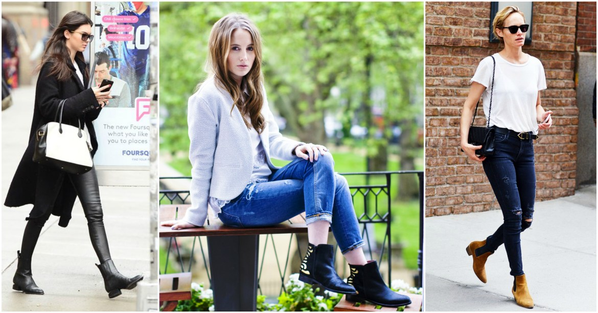 Celebrities in Chelsea Boots: Kylie Jenner, Rosie Fortescue, Amber Valletta