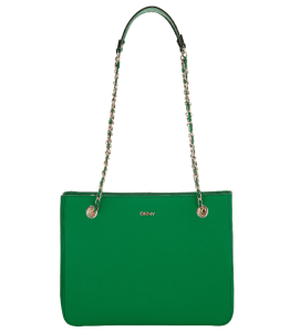 DKNY Saffiano Chain Tote Bag