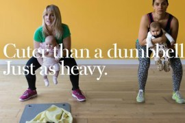 This Girl Can - post natal fitness poster