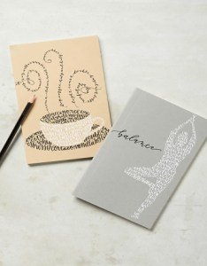 Anthropologie Favourite Things Journal