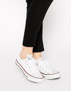 Converse, trainers, white, low tops