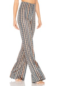 sunset waves trousers