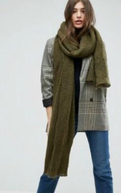 ASOS Oversized Long Knit Scarf