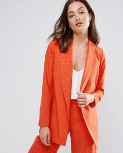 Red Kimono Jacket
